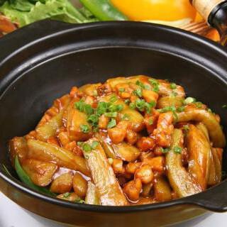【华洋】Chicken & Salt Fish & Eggplant 茄子咸鱼鸡粒煲