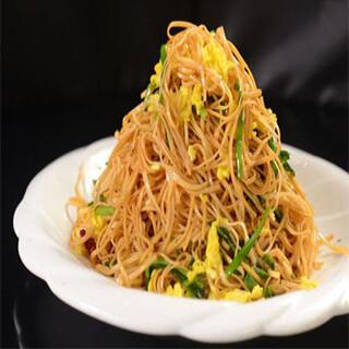 【华洋】Pan Fried Three Shredded Vermicelli  (Mai Fun)干炒三丝(米粉)