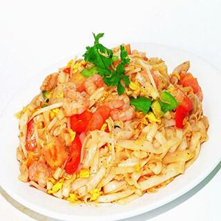 【华洋】Fried Yi Mein W. Crab Meat 蟹肉扒伊面