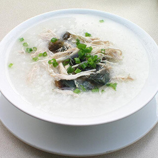 【华洋】Pork W. Preservied Egg Congee 皮蛋瘦肉粥