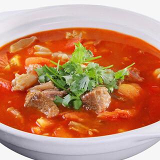 【华洋】Fresh Tomato Beef Ho Fun 鲜茄牛汤河粉