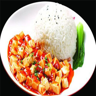 【华洋】Ma Po Tofu On Rice 麻婆豆腐饭(辣)