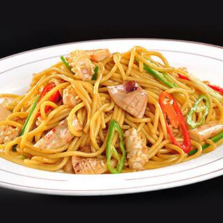 【华洋】Seafood Fried Noodle 海鲜炒面