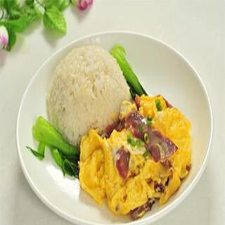 【华洋】Beef W. Egg On Rice 滑蛋牛肉饭
