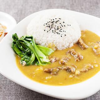 【华洋】Curry Beef Brisket On Rice 咖喱牛腩饭(辣)