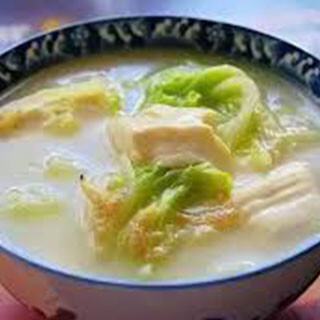 【华洋】Pork & Vege Soup 绍菜豆腐肉丝汤(小份/大份)