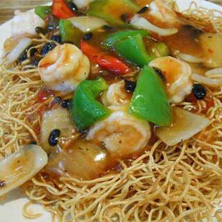 【华洋】Prawn Fried Noodle 虾球炒面