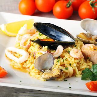 【华洋】Seafood Combination On Rice 海鲜烩饭