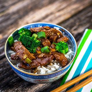 【华洋】Beef W. Broccoli On Rice 西兰花牛肉饭