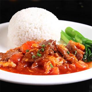 【华洋】Beef W. Tomatoes On Rice 番茄牛肉饭