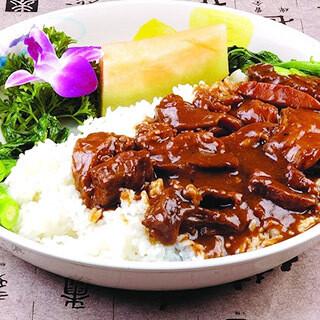 【华洋】Beef Brisket On Rice 原汁牛腩饭