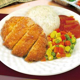 【华洋】Deep Fry Pork Chop On Rice 吉列猪扒饭