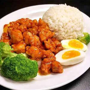【华洋】Spicy Chicken On Rice 香辣鸡饭(辣)