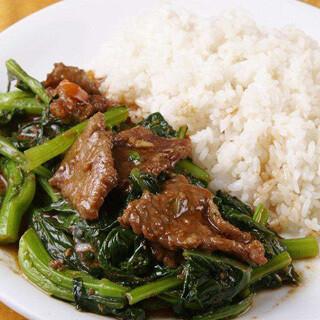 【华洋】Stae Beef On Rice 沙爹牛肉饭(辣)