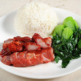 【华洋】BBQ Pork On Rice 蜜汁叉烧饭