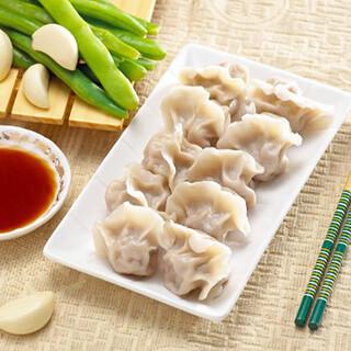 【北方面食】Leeks Egg Shrimp Dumplings 韭菜鸡蛋虾皮三鲜馅饺子