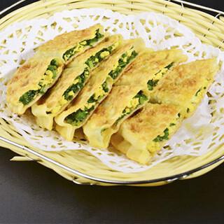 【北方面食】Fried Big Leek Dumplings 韭菜盒子(4pcs)