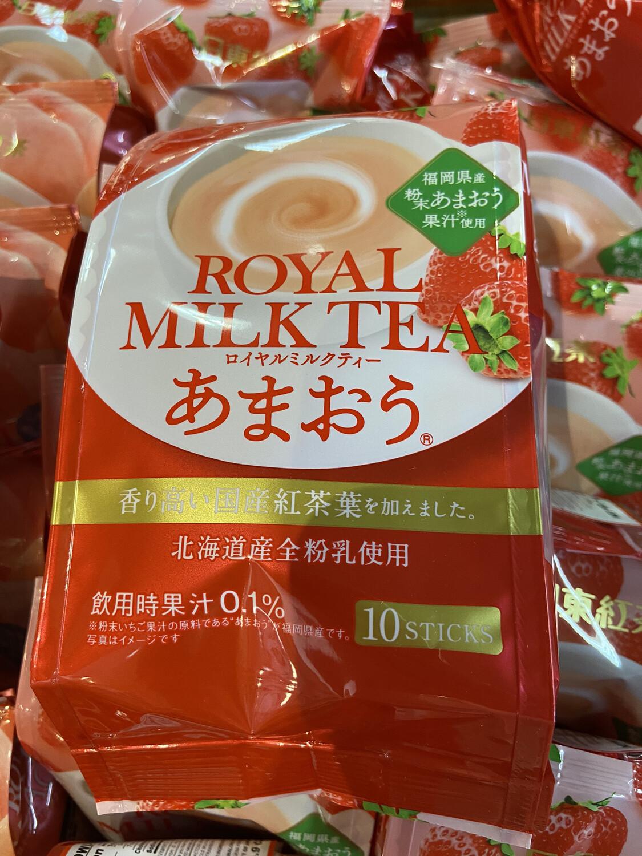 【RDG】日本 草莓奶茶  北海道产牛乳粉制 10支入
