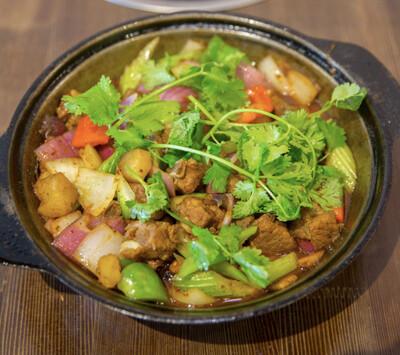 【重庆鸡公煲】Garlic Ribs Pot 蒜香排骨煲