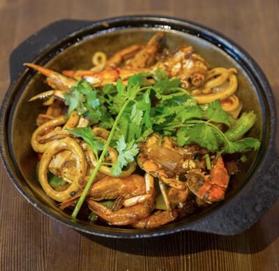 【重庆鸡公煲】Seafood Combo Pot 海鲜煲