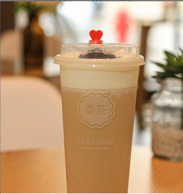 【奉茶】Oreo Cheese Milk Tea(No ice)