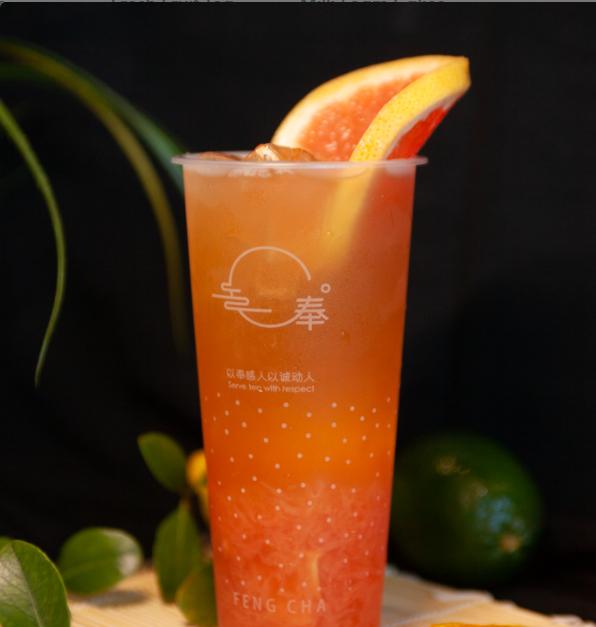 【奉茶】Overflowing Grapefruit(No ice)