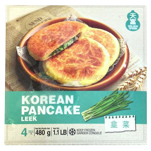【RF】Korean Pancake  Leek 4pc 480g 韩国天富韭菜煎饼