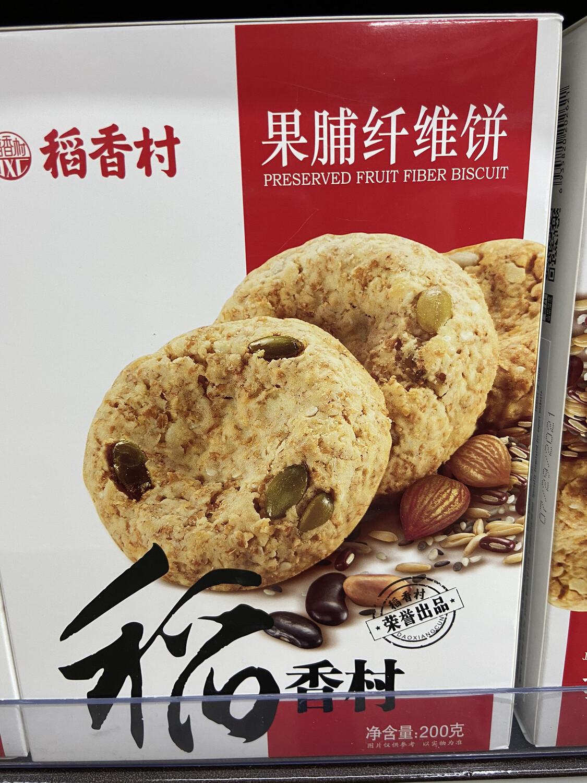 【RD】稻香村 果脯纤维饼