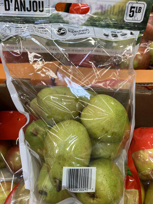 【RSP】D'ANJOU Pear 鸭广梨 5lb
