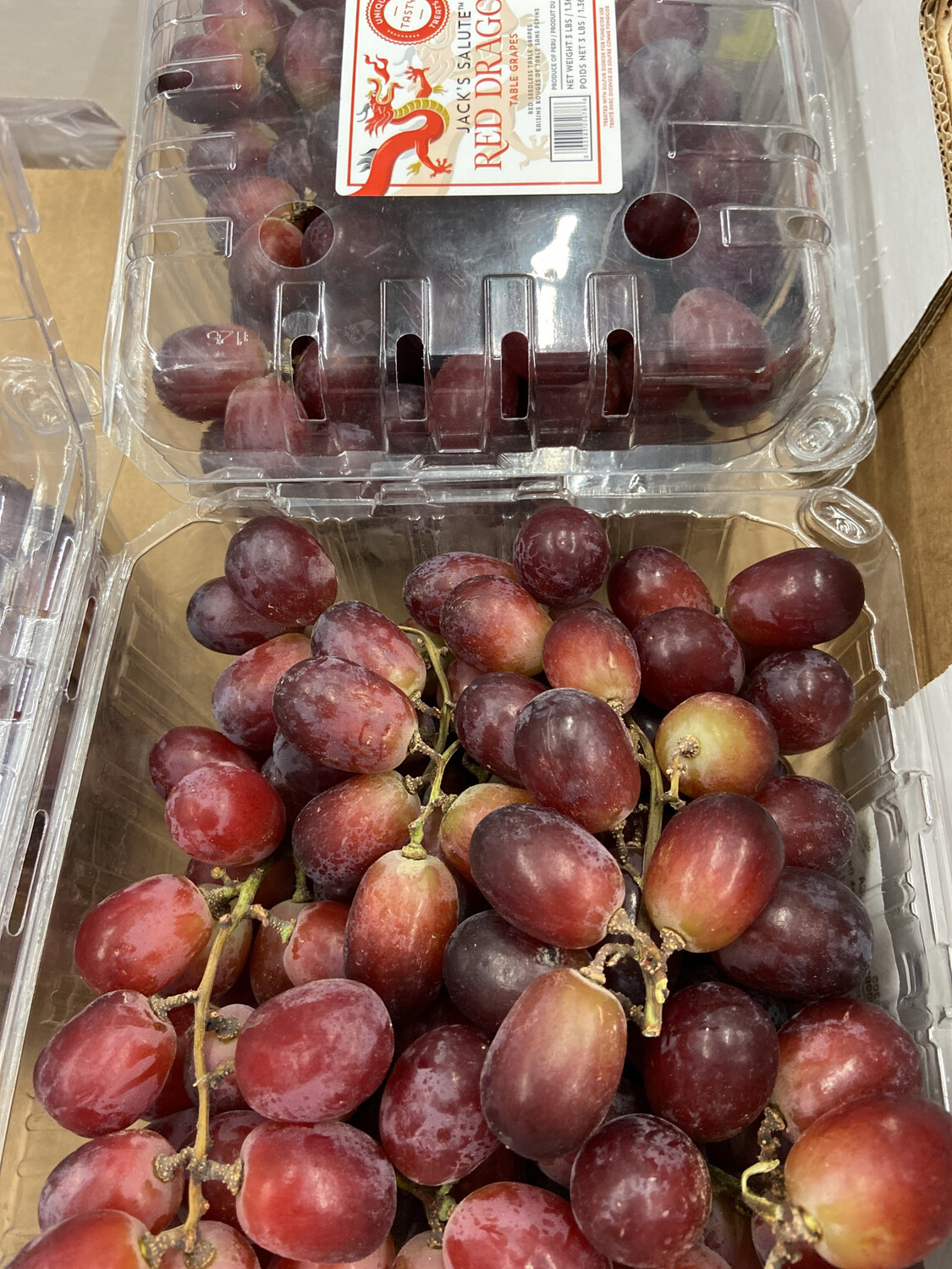 【RSP】Seedless Red Grapes 无籽红葡萄 3lb