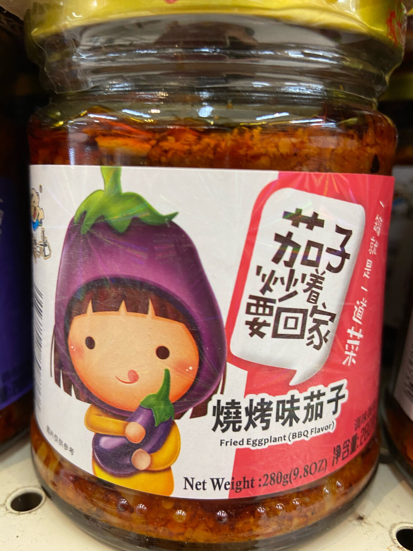 【RG】饭扫光 烧烤味茄子 280g