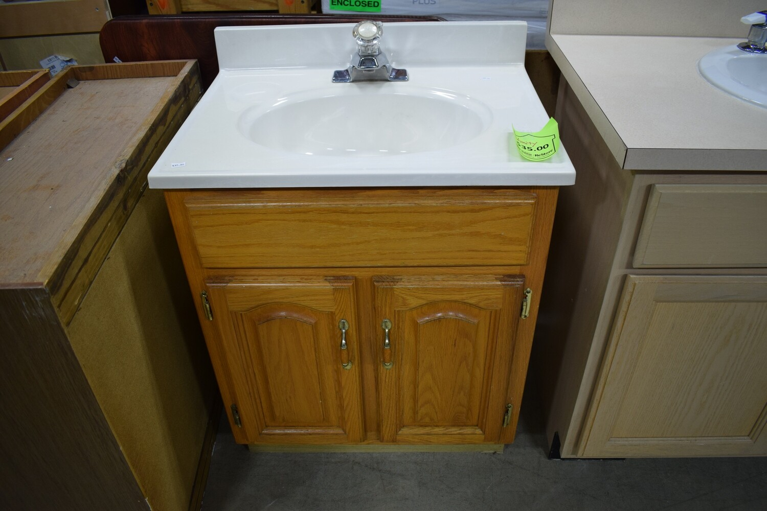 "24"" Vanity with Sink"