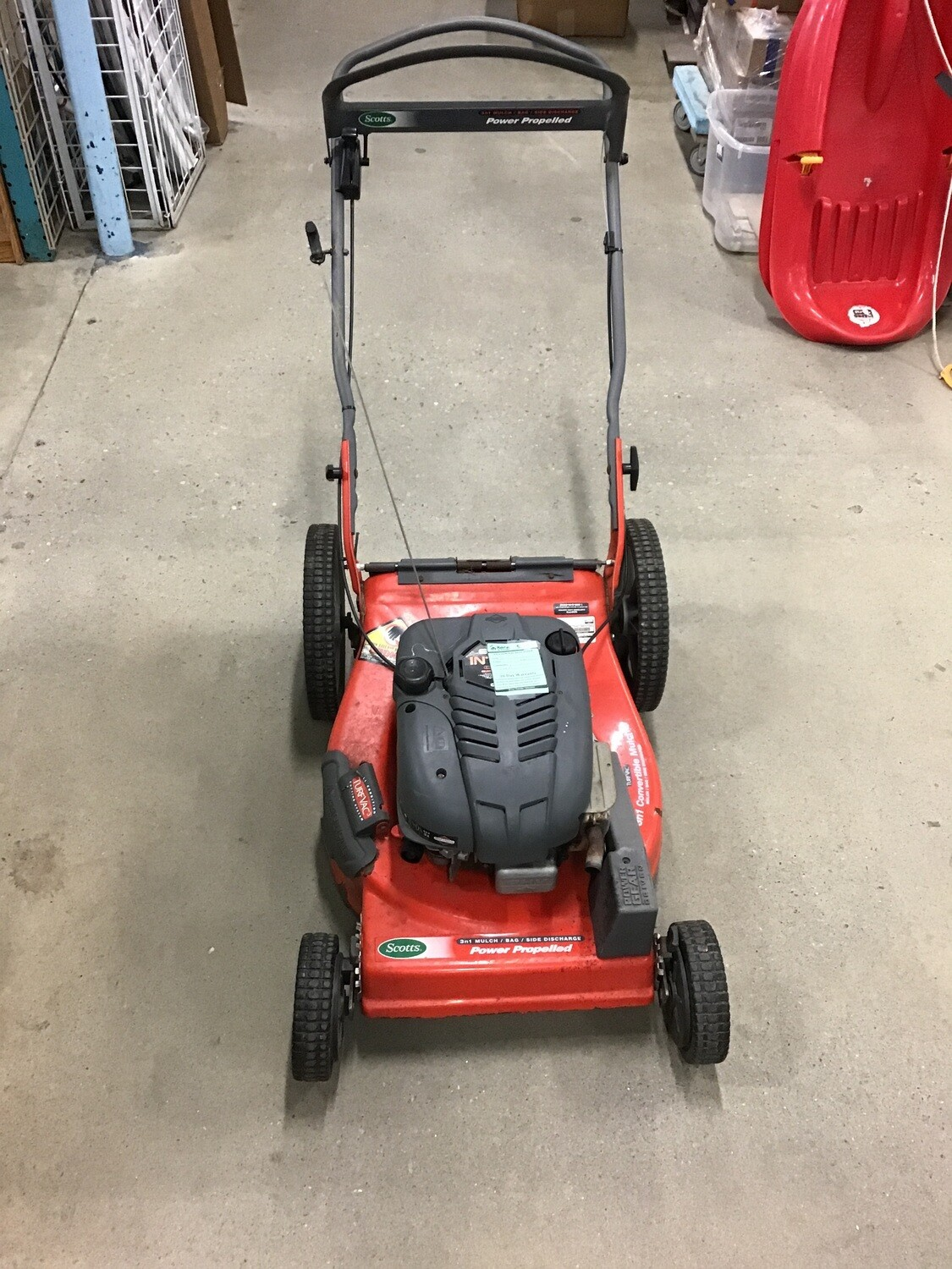 Scott's Power Propelled Mower