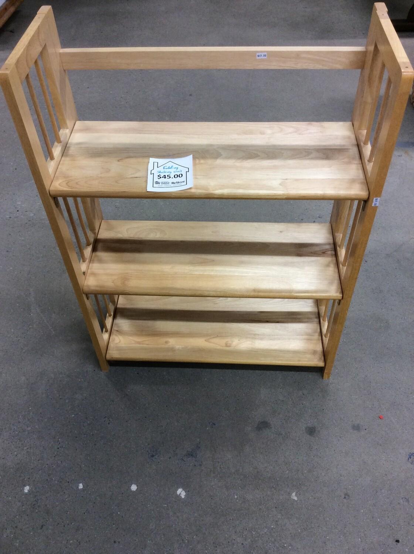 Light Wood Bookshelf