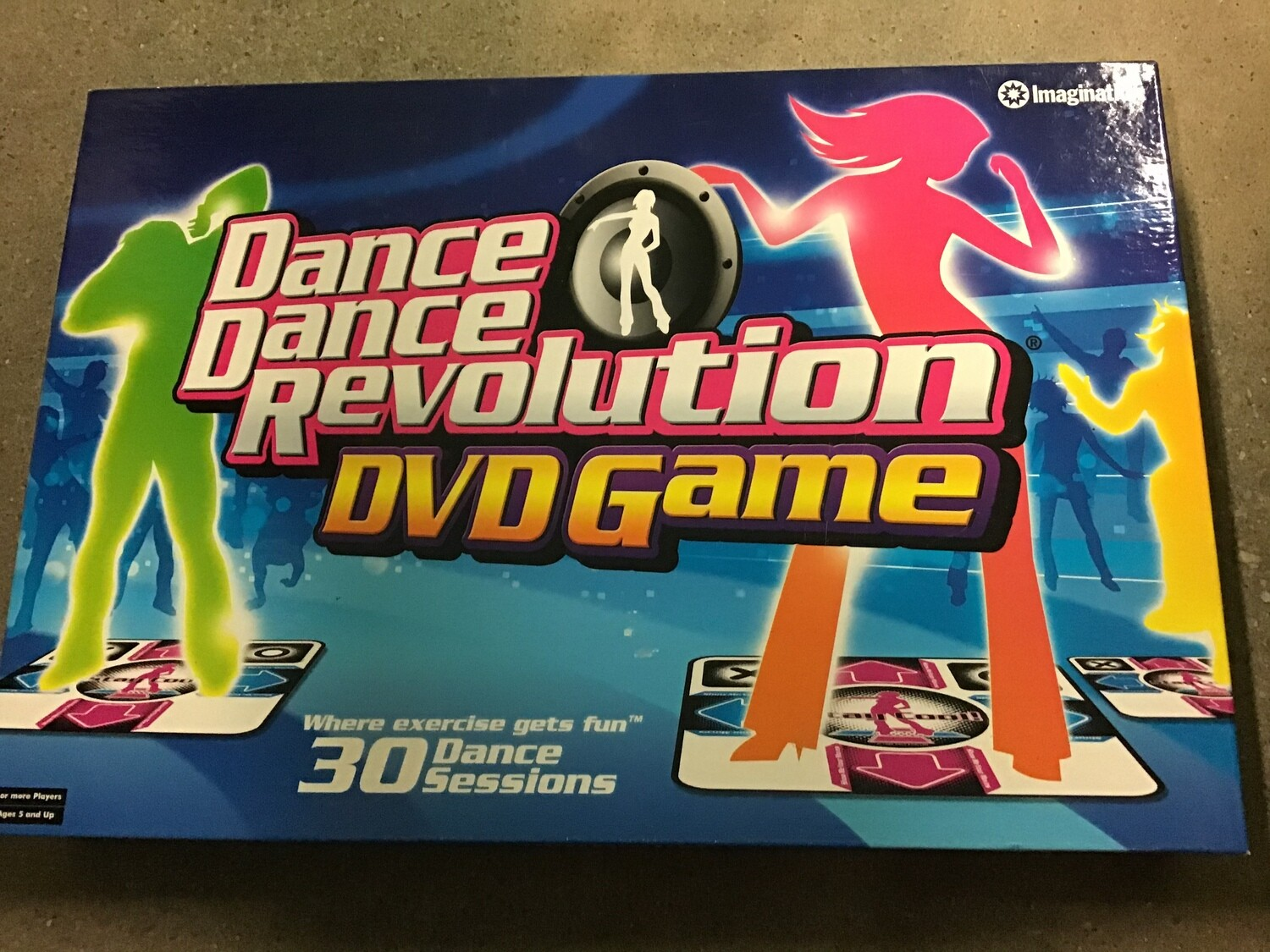 DDR DVD GAME