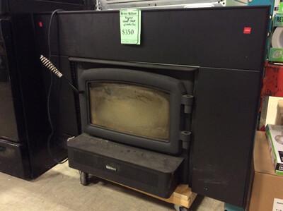 Regency Wood Stove insert w/ electric fan