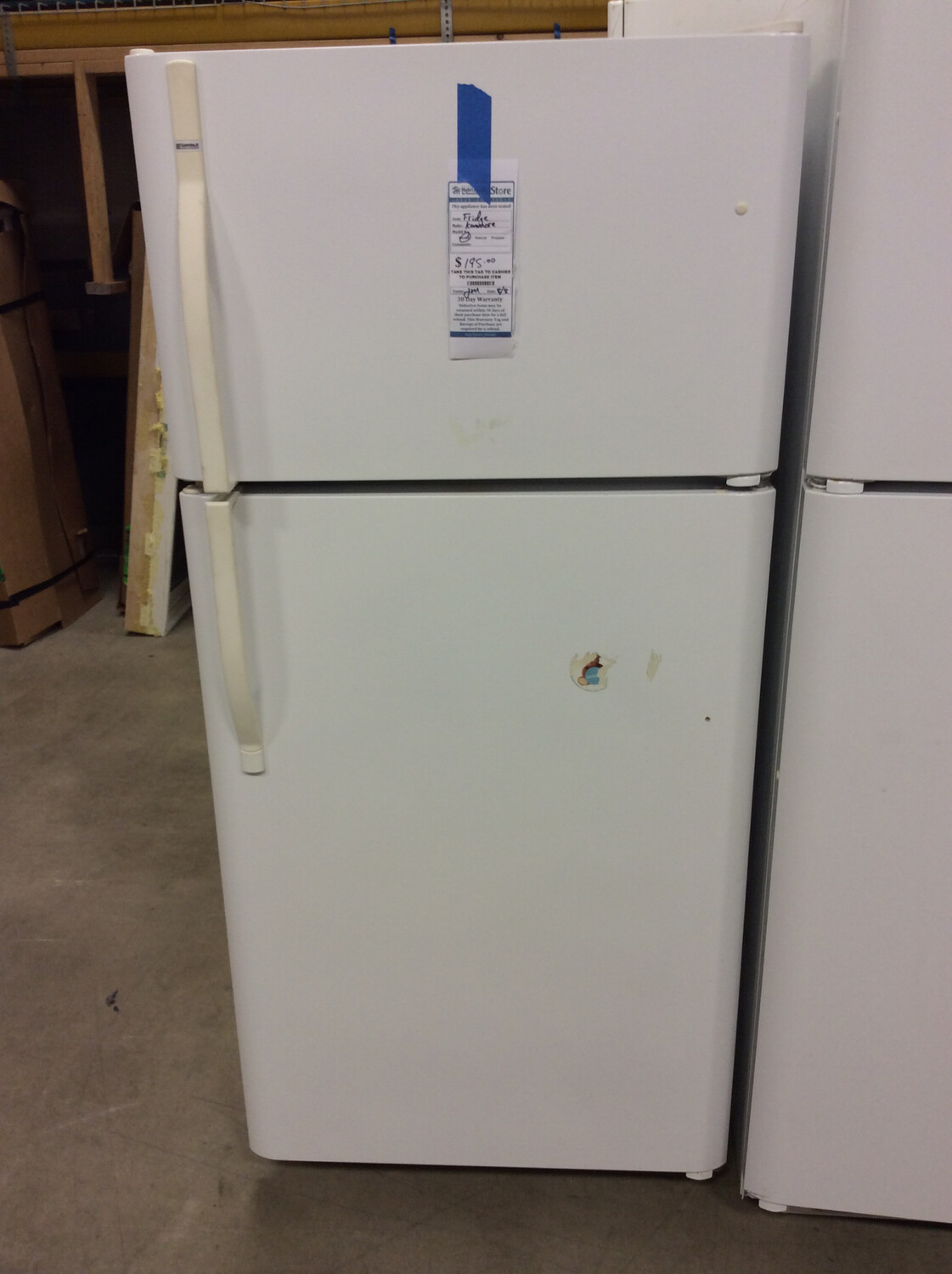 Kenmore white fridge