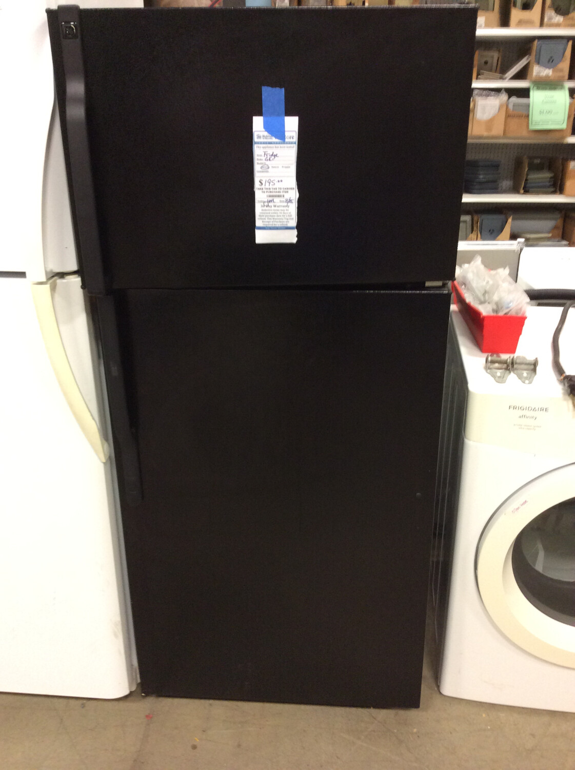 GE Black Fridge