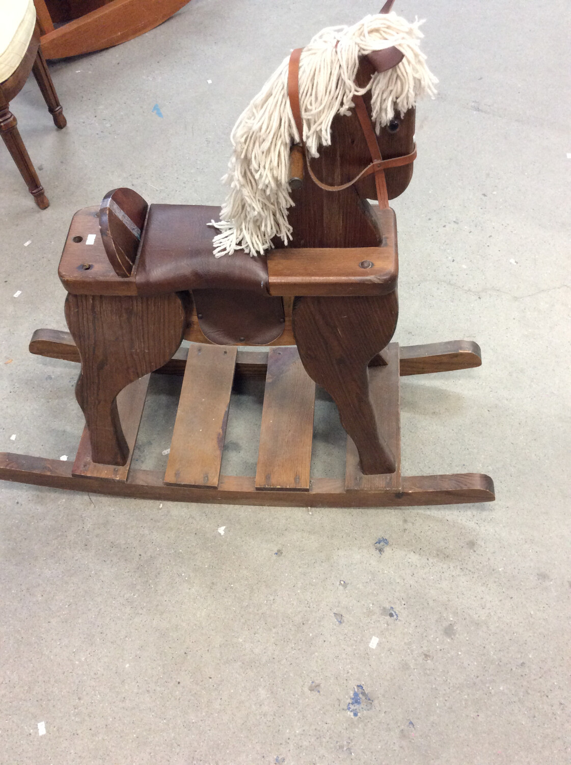 Child's Horsey (dark wood)