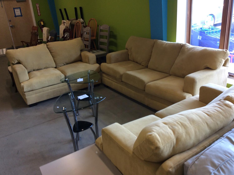 Yellow Furniture Set