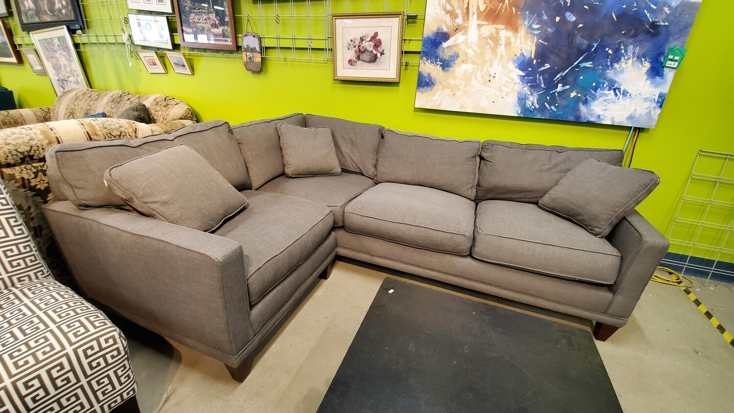 Westwood Gray Sectional