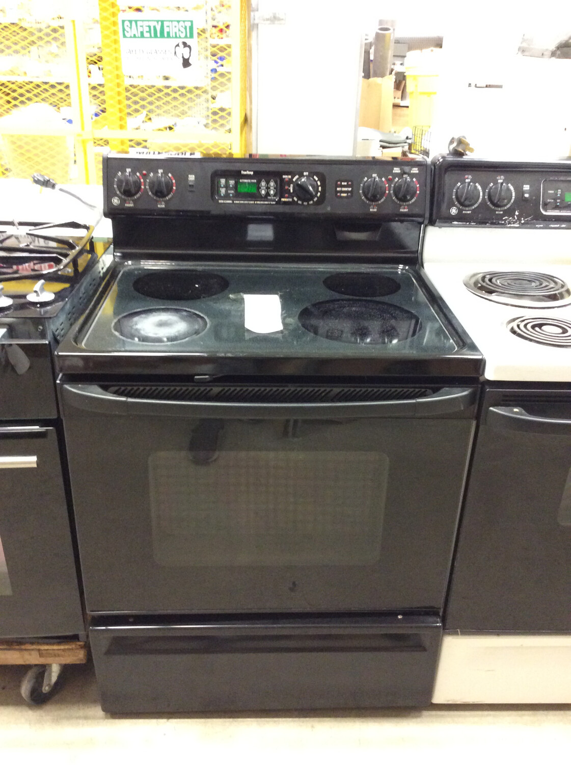GE Glass Top Oven