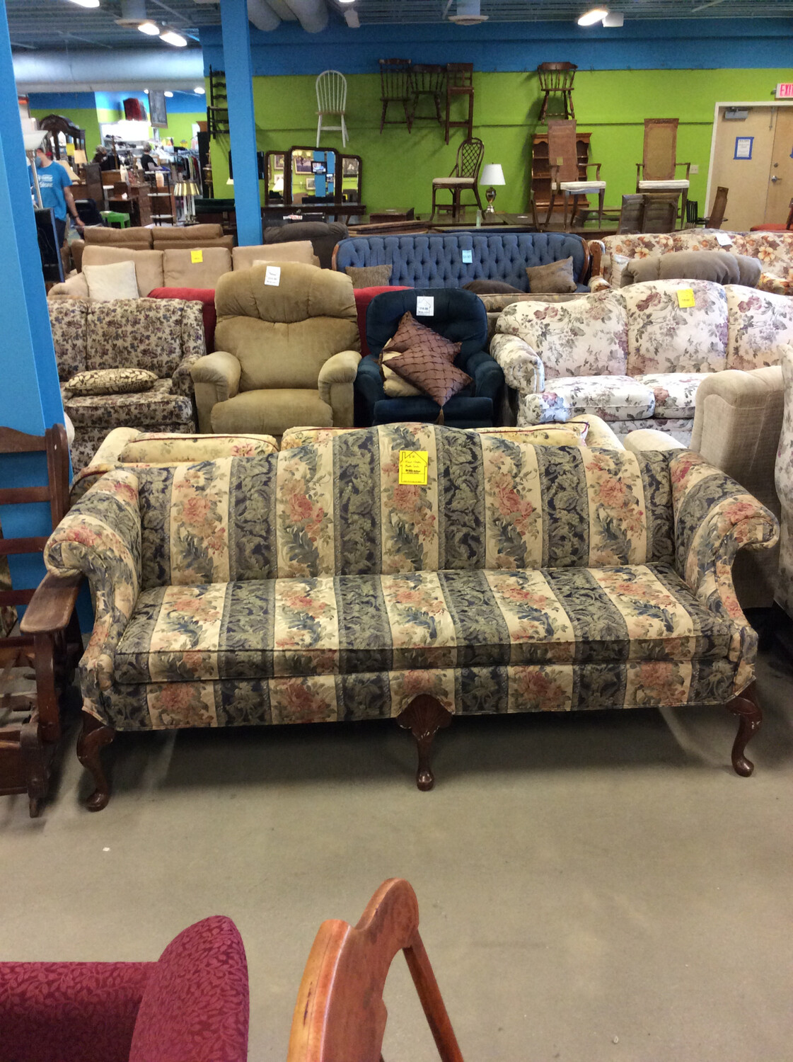 Floral Clayton Martin Couch
