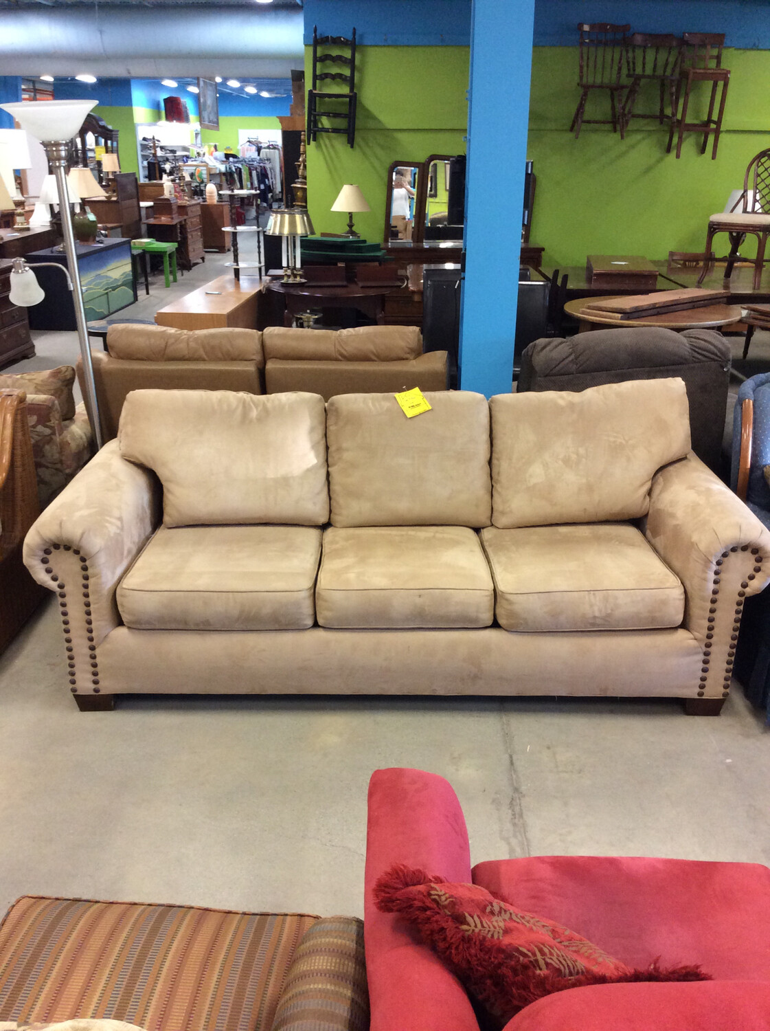 Tan Pullout Couch