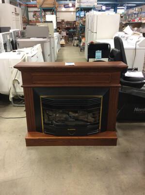HearthRite Propane Fireplace