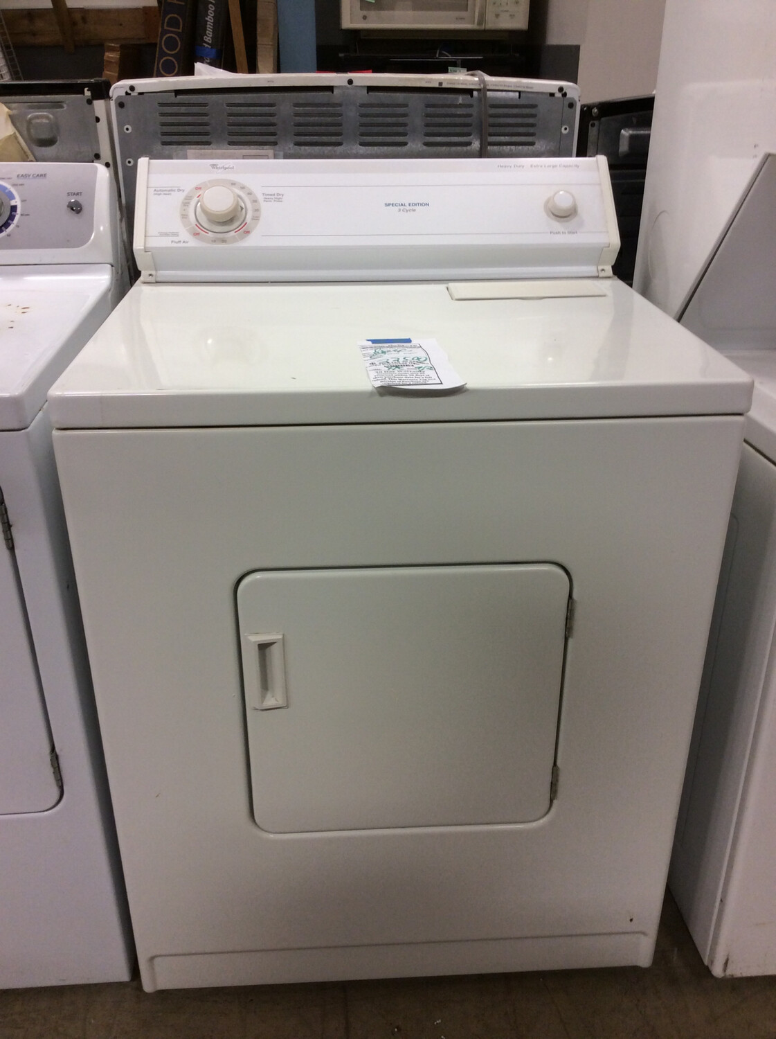 Whirlpool Dryer 1