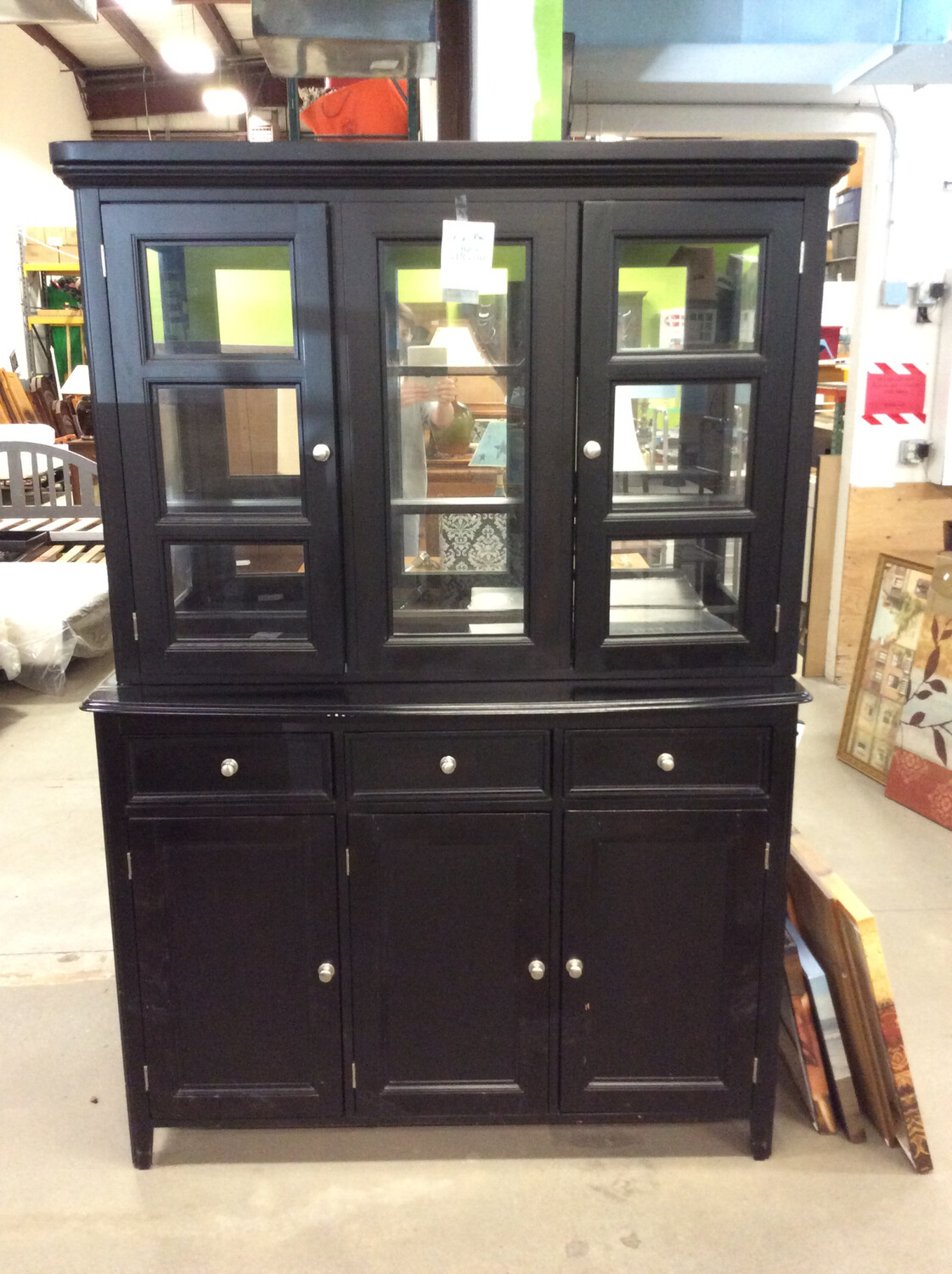Glass Block Hutch