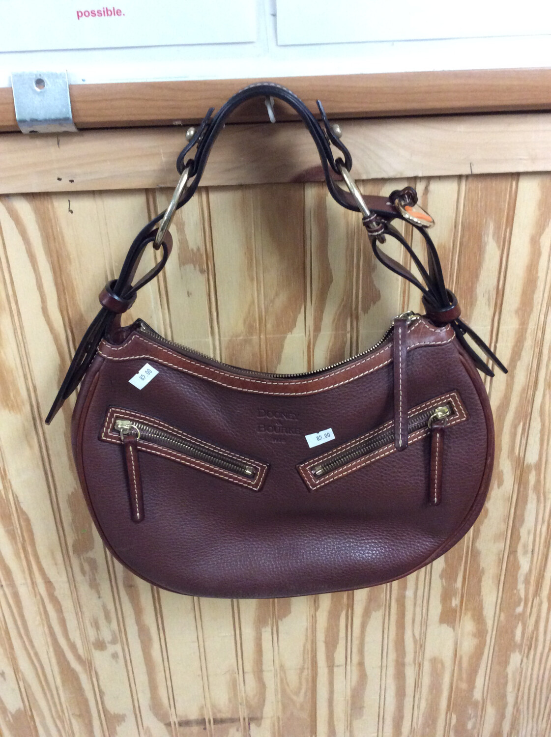 Dooney and Bourke Brown Leather Purse