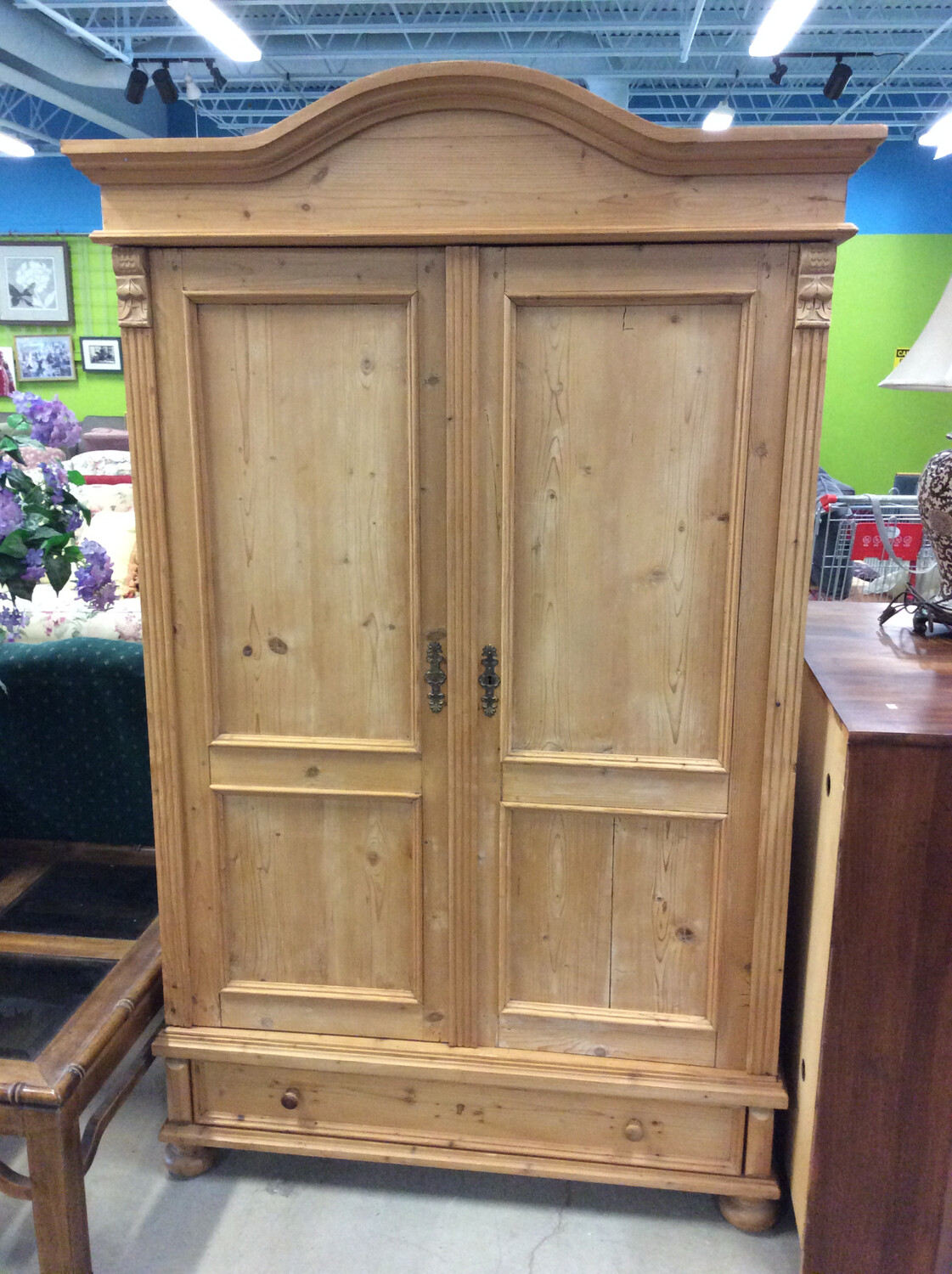 Large Wooden Armoire