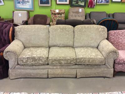 Tan FlexSteel Sofa